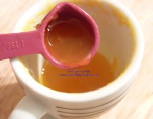 orange syrup 1