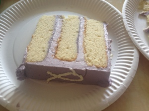 Wan' a slice o' cake?