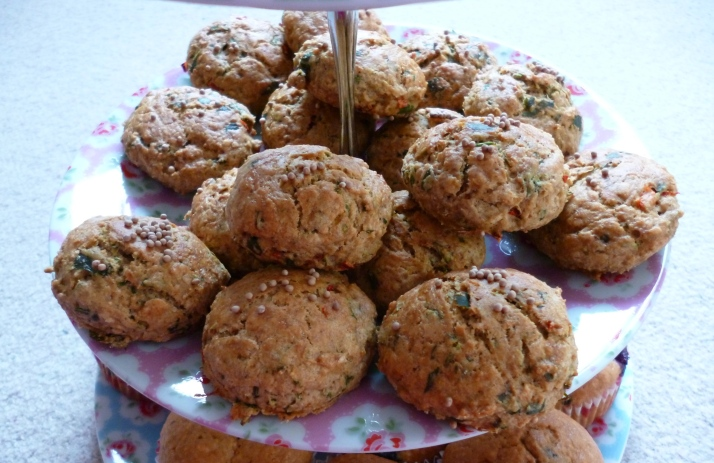 yummy and spicy mini scones