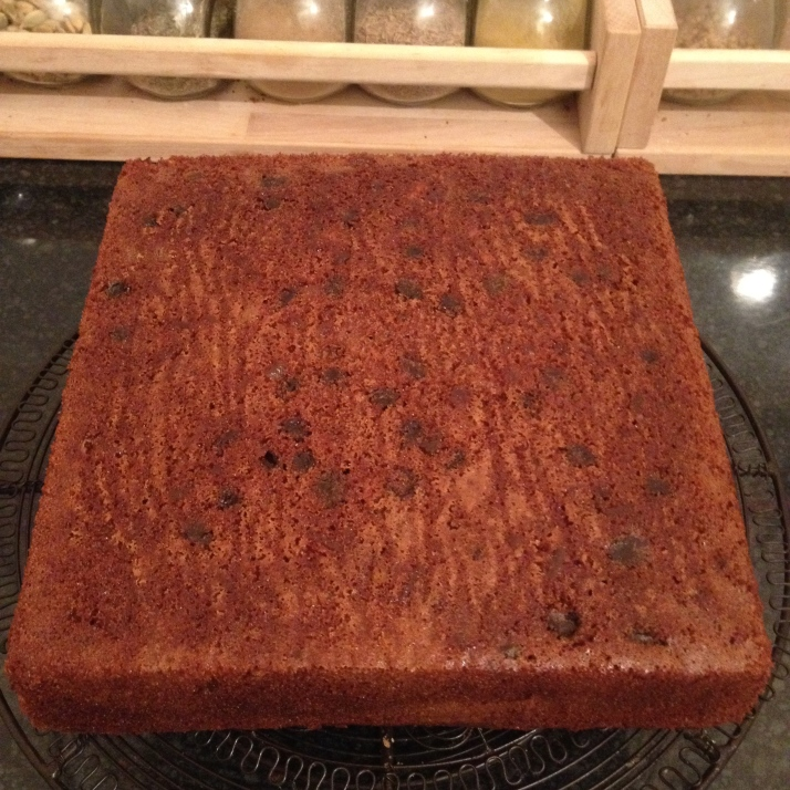 turned out with speckles of sultanas lining the bottom :-)